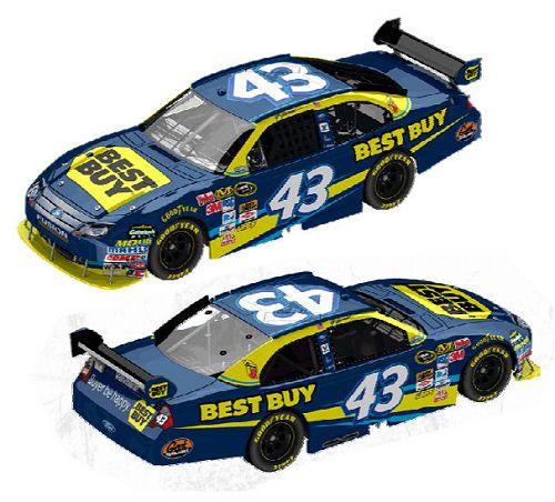 NASCAR- Nouvelles couleures pour 2010... 43best10
