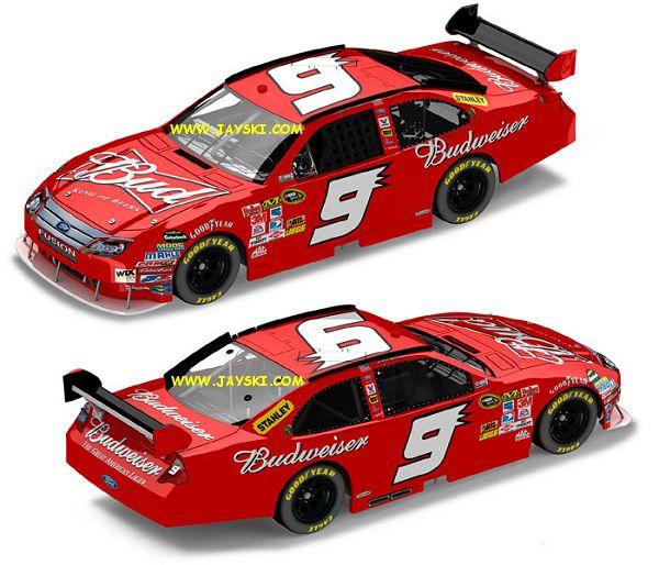 NASCAR- Nouvelles couleures pour 2010... 9bud-d10