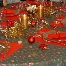 Bien décorer sa table de Noël Table-10