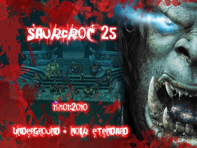 Icecrown Citadel 25 - Alliance Underground - Noir étendard - Saurcroc down Saurcr11