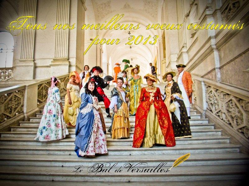 les affiches  du bal de  Versailles, depuis 2002 Carted12