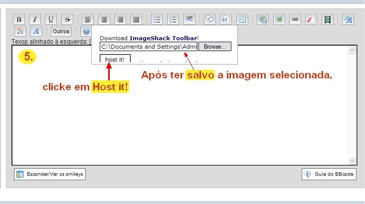Como Colocar Fotos nas suas mensagens Tutori17