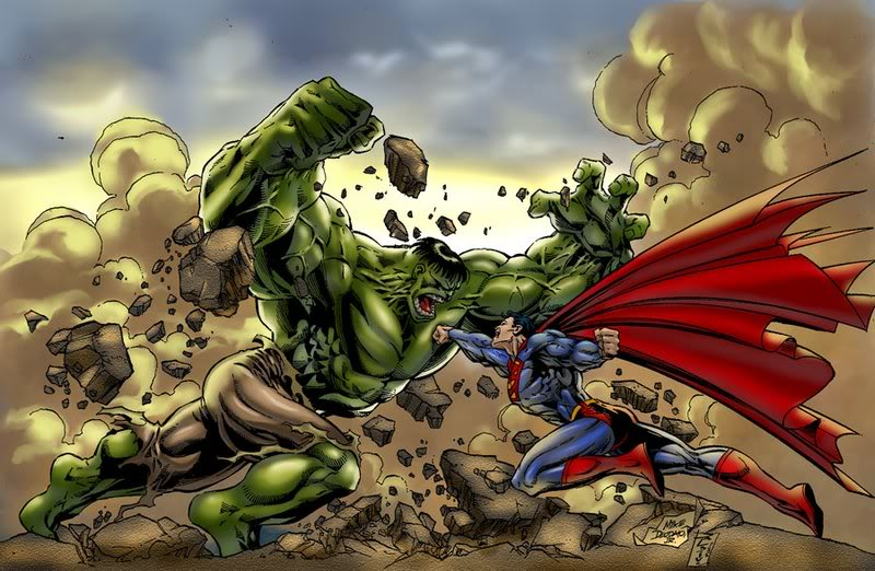 the first of the best fights of comicbook history Hulk10