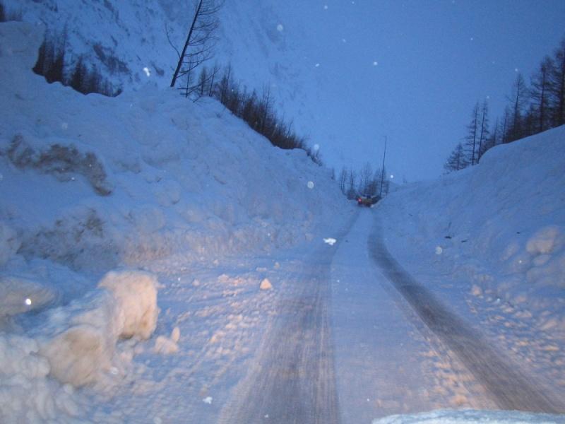 Col des Montets fermé Janvie11