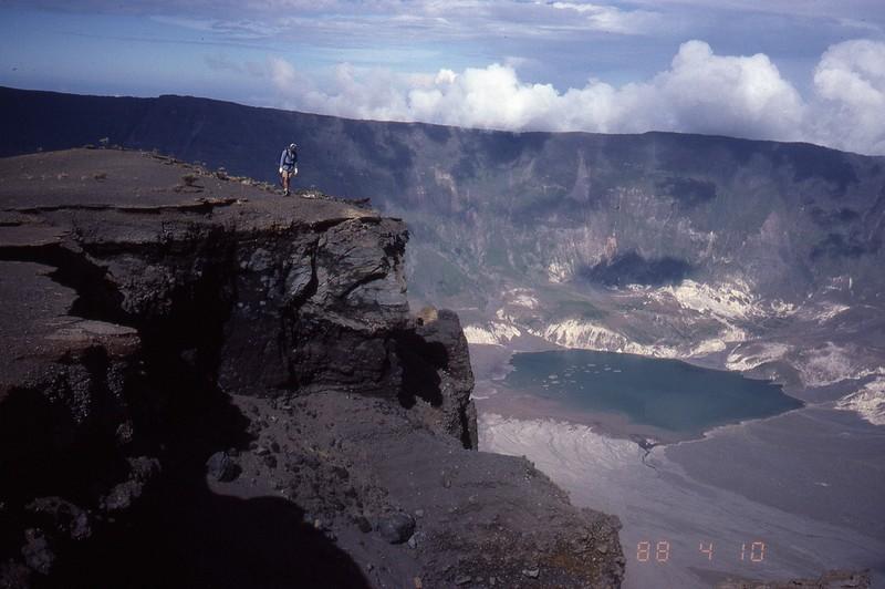 Elements qui influencent le climat, les volcans. Tambor10