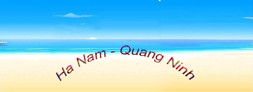 Đảo Hà Nam - Tỉnh Quảng Ninh