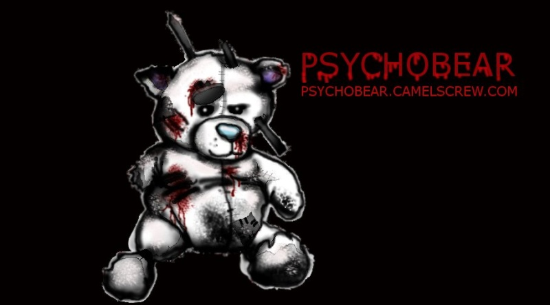 PsychoBear and Friends; Drawn by me, our resident Illistrator Psycho11