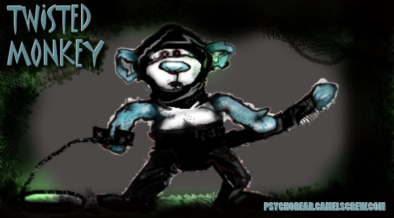 PsychoBear and Friends; Drawn by me, our resident Illistrator Twizte10