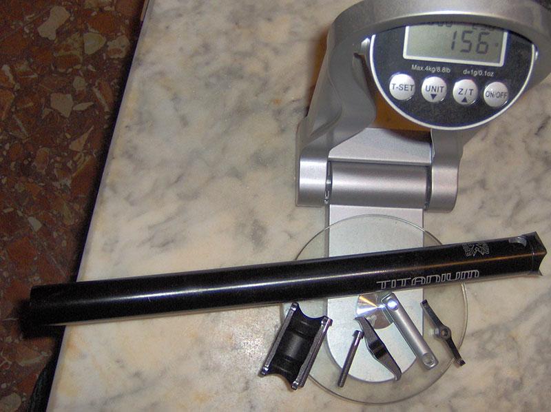 Tija KCNC con travesaño USE 350 mm / 27,2  <<VENDIDA>> Tijakc10