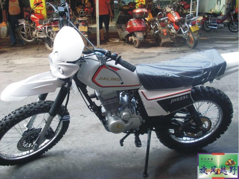 经典改装150cc嘉陵白菜越野竞技版摩托车 0210
