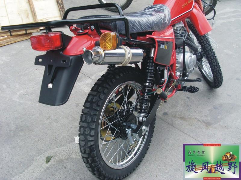 经典改装红色200cc嘉陵白菜越野完整版摩托车 210