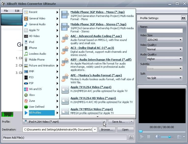 حصريا برنامج  Xilisoft Video Converter Ultimate 5.1.26.1211+ Serial لتحويل جميع صيغ الفديو 312