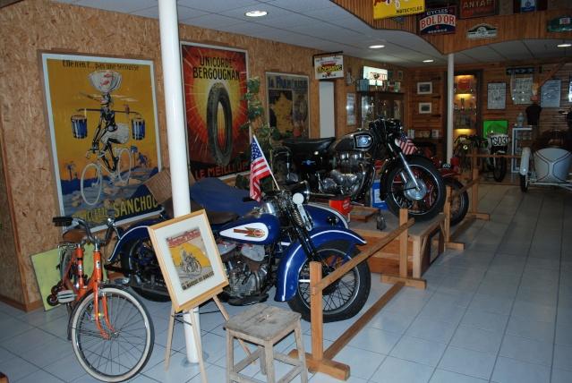 Quelques photos de motos du musée Baster à RIOM 20110924
