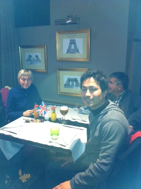 Au café polyglotte de Calais le 11/12/12 Photo10
