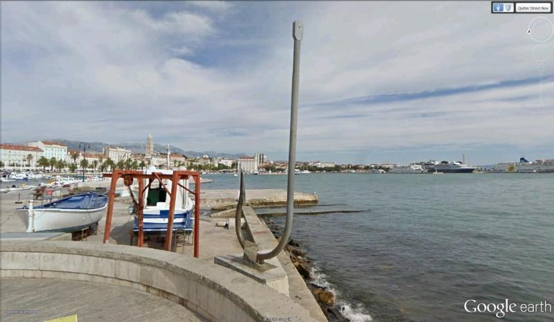 Hameçon géant à Split - Croatie Hameco10