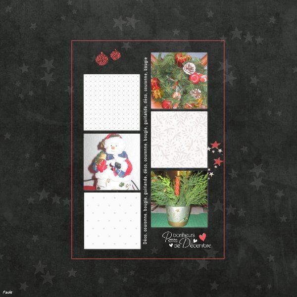 Pages réalisées avec le Noël blanc de DCS Babeli10