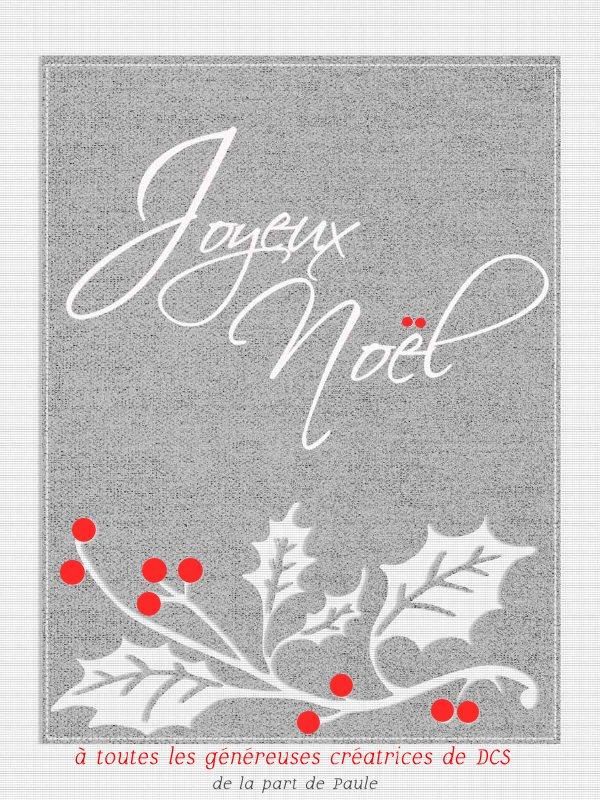 Pages réalisées avec le Noël blanc de DCS Realis11