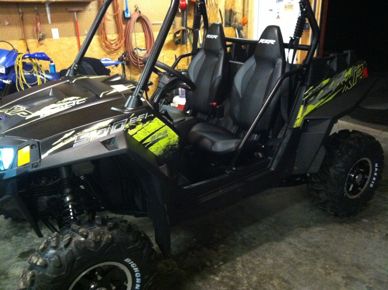 The Mistress...2013 RZR 900 XP Stealth BLack/ Evasive Green w/ EPS Img_1513