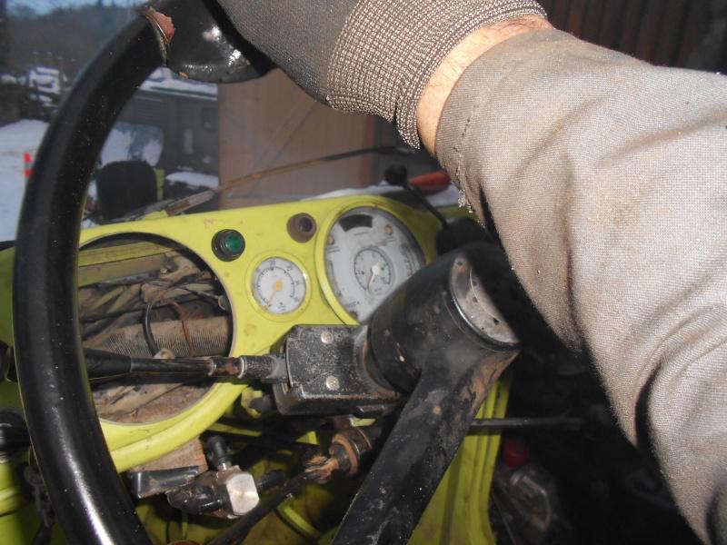 montage de prise de force avant avec boitier de direction assisté 421 Dscn1421