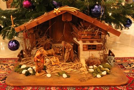Nos sapins de Noël  Krippe10