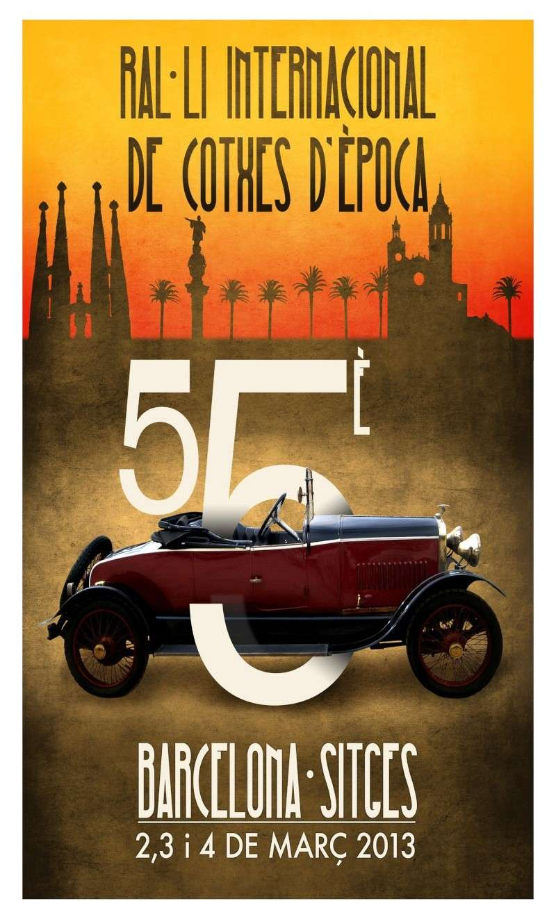 55º Rallye Barcelona-Sitges (02-03/03/2013) Cartel10