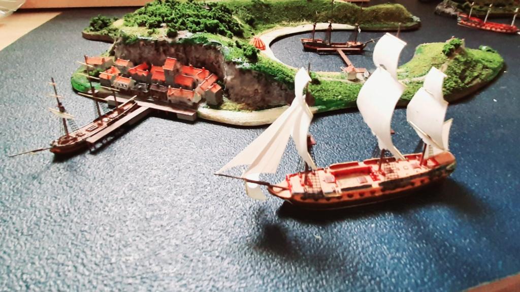 Diorama - jeu de plateau - Pirates de légende 1/700 20210712