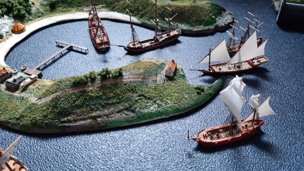 Diorama - jeu de plateau - Pirates de légende 1/700 20210713