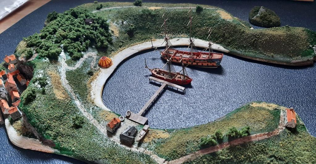 Diorama - jeu de plateau - Pirates de légende 1/700 20210714