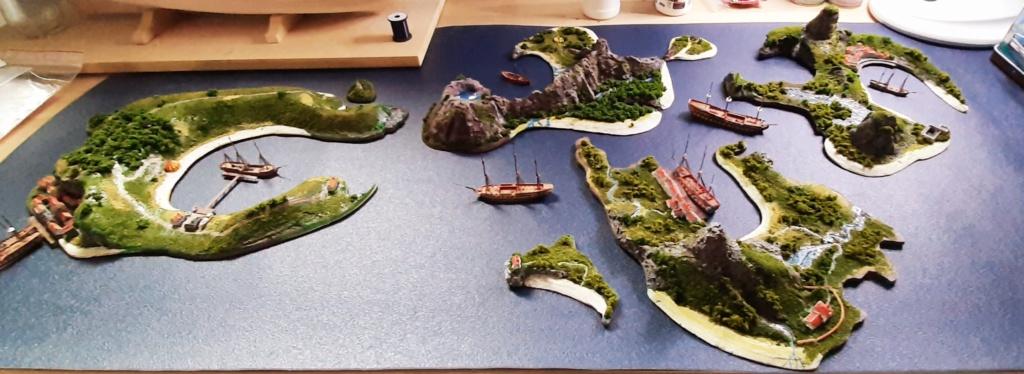 Diorama - jeu de plateau - Pirates de légende 1/700 20210715