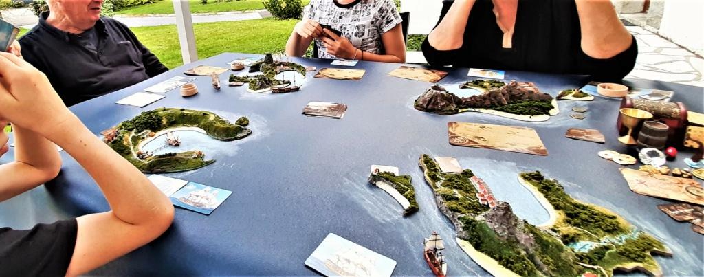 Diorama - jeu de plateau - Pirates de légende 1/700 20210912