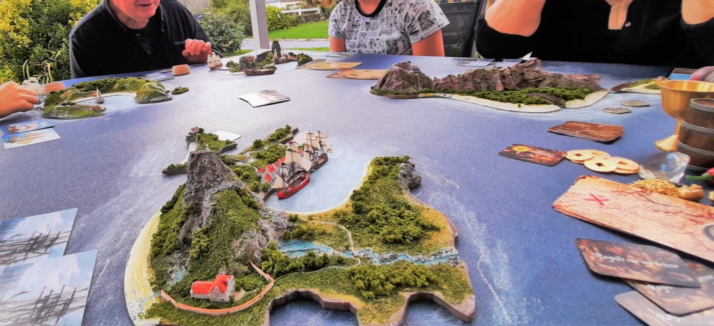 Diorama - jeu de plateau - Pirates de légende 1/700 20210913