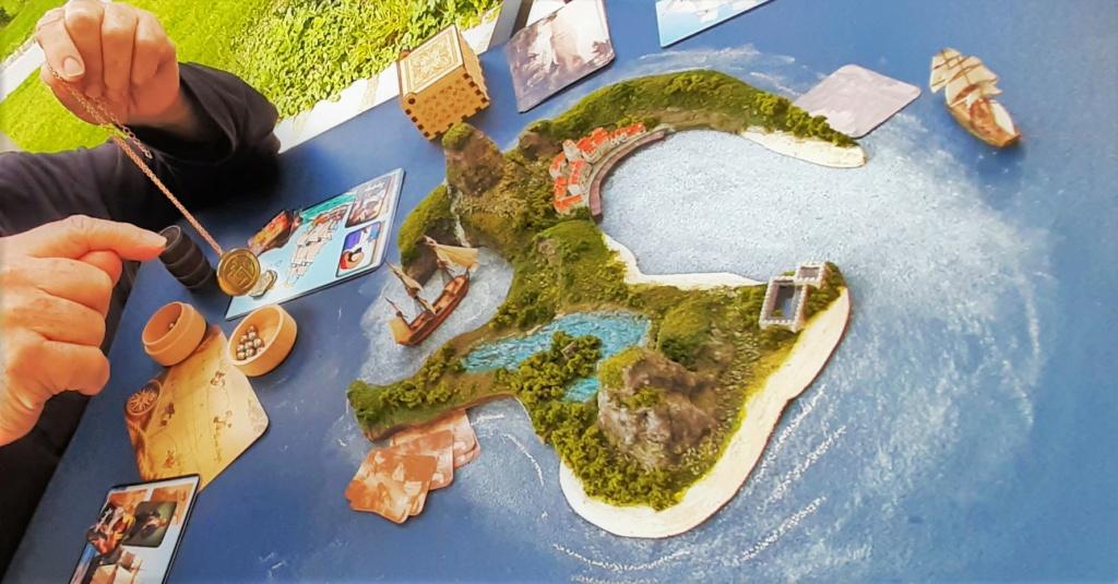 Diorama - jeu de plateau - Pirates de légende 1/700 20210914