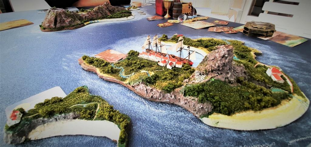 Diorama - jeu de plateau - Pirates de légende 1/700 20210915