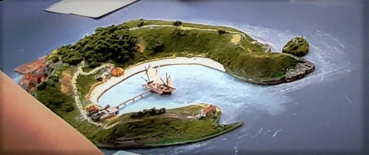 Diorama - jeu de plateau - Pirates de légende 1/700 20210916