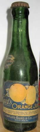 beau lot de 10 bouteille gurd avec etiquette  Img_3919