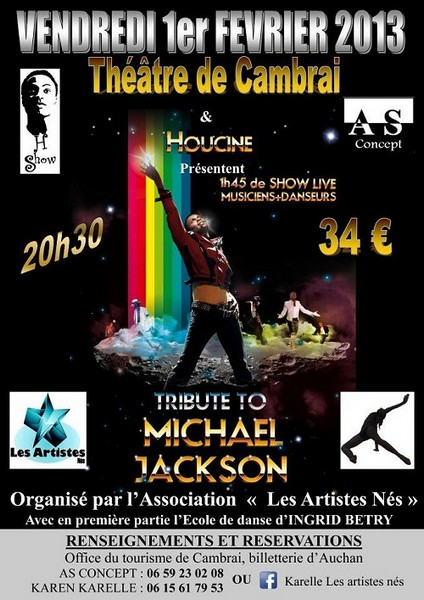 Tribute To Michael Jackson à Cambrai le 1er février 2013 Tribut10