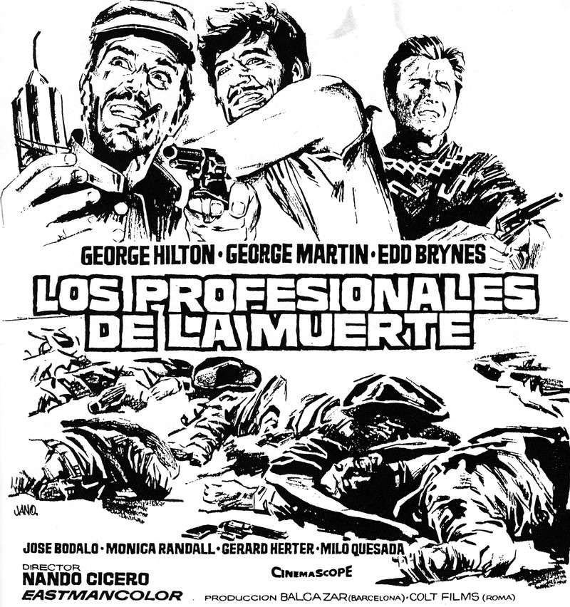 Professionnels pour un massacre - Professionisti per un Massacro - 1967 - Nando Cicero Scan_210