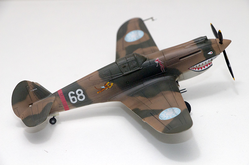 1/72nd Fw-190's and Airfix P-40 1067_p10