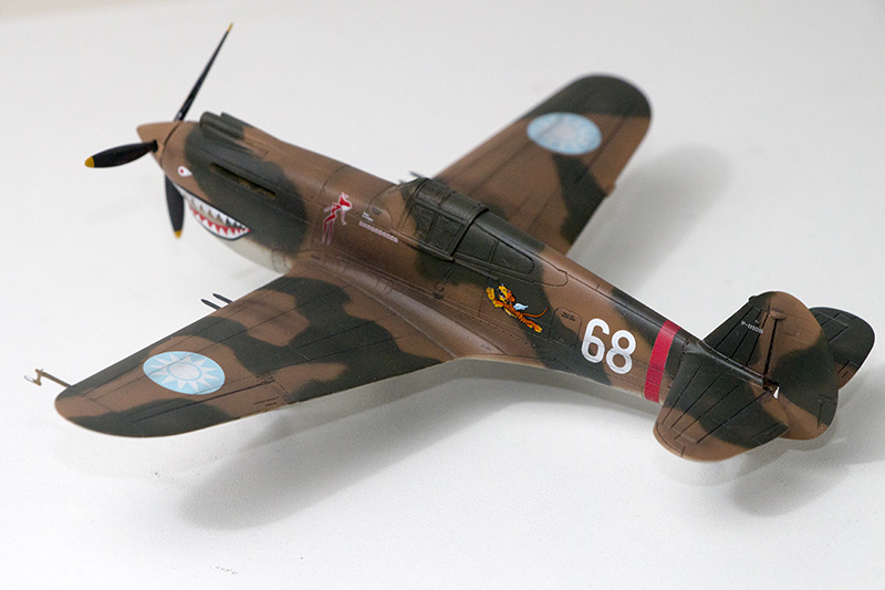 1/72nd Fw-190's and Airfix P-40 1069_p10