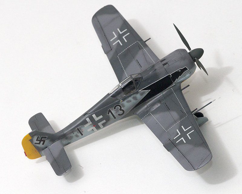 1/72nd Fw-190's and Airfix P-40 1076_f10