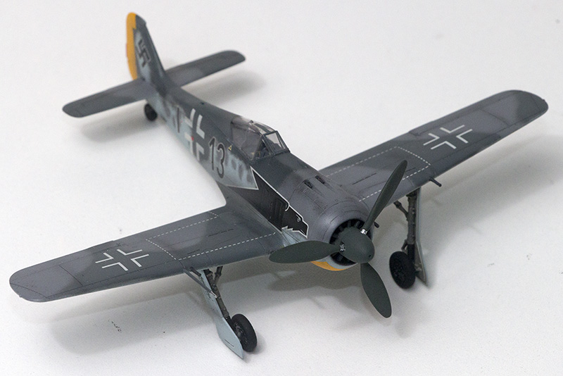 1/72nd Fw-190's and Airfix P-40 1077_f10