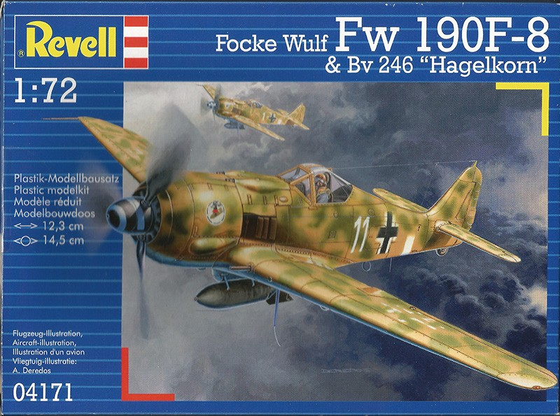 1/72nd Fw-190's and Airfix P-40 Revfw110