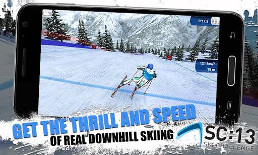 [ANDROID - JEU : SKI CHALLENGE 13] Le jeu de ski incontournable de cette année!! [Gratuit/Payant] A12