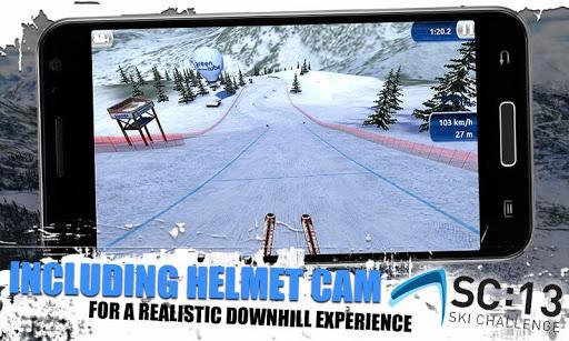 [ANDROID - JEU : SKI CHALLENGE 13] Le jeu de ski incontournable de cette année!! [Gratuit/Payant] B12
