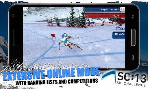 [ANDROID - JEU : SKI CHALLENGE 13] Le jeu de ski incontournable de cette année!! [Gratuit/Payant] C12