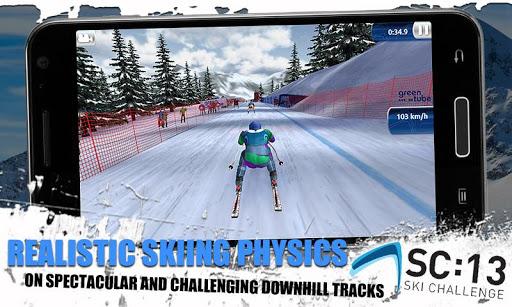 [ANDROID - JEU : SKI CHALLENGE 13] Le jeu de ski incontournable de cette année!! [Gratuit/Payant] D12