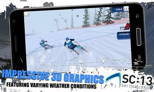 [ANDROID - JEU : SKI CHALLENGE 13] Le jeu de ski incontournable de cette année!! [Gratuit/Payant] E11