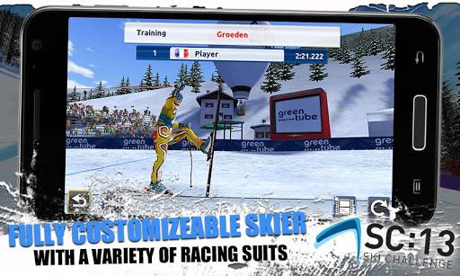 [ANDROID - JEU : SKI CHALLENGE 13] Le jeu de ski incontournable de cette année!! [Gratuit/Payant] F11