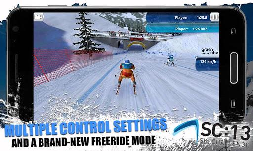 [ANDROID - JEU : SKI CHALLENGE 13] Le jeu de ski incontournable de cette année!! [Gratuit/Payant] G11