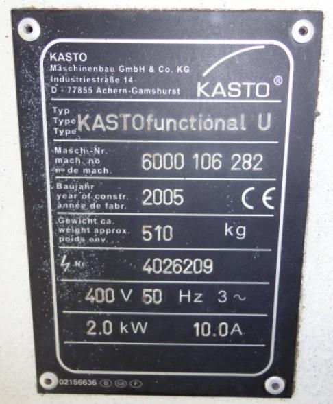 Kasto Functional U Kas1_b10